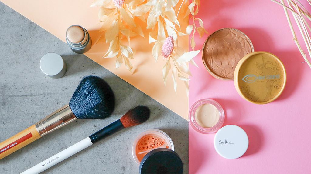 Highlighter Ilia Beauty Cosmic Dancer Pinceaux Blush Juicy Peach Lily Lolo Concealer Ere perez Poudre bronzante Couleur Caramel